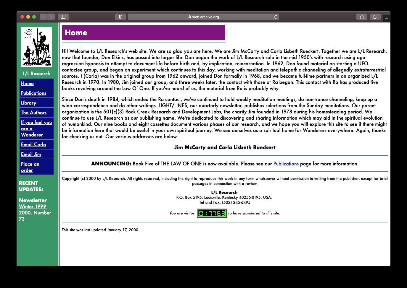 LLResearch.org - 2000