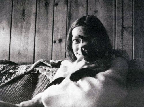 Carla holding the cat Gandalf